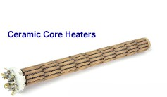 ceramic core heaters
