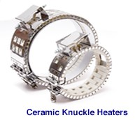 ceramic knuckle heaters