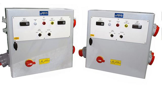400V x 32 amp sockets Dual Controls