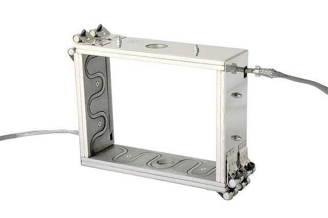 Machined Aluminium Box heater with replaceable sq heaters