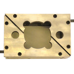 Machined Bronze Steel with replaceable Sq Heater (2)