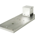 Stainless steel plate with terminal housing