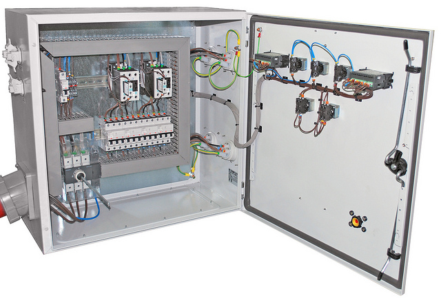 Wired to suit customer requirements
